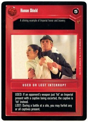 Echo Base Trooper Officer Star Wars Hoth Limited LS Common 1996 CCG Card C1814