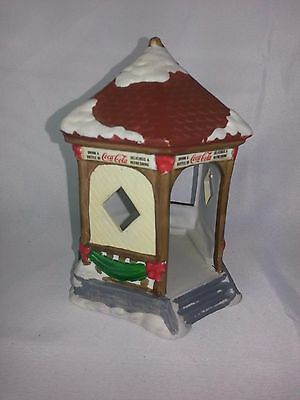 "Coca Cola Town Square Collection Holiday Christmas Village 1993 Building 6"" Tall"