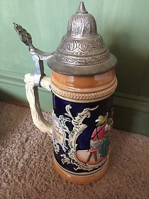 Vintage Albert Jacob Thewalt Beer Stein