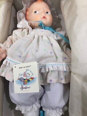 EFFANBEE 1989 Grumpy Vinyl (Heart  Outfit) Collectible Doll