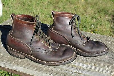 Vintage White's Semi-Dress Leather Work Boots 10.5 E