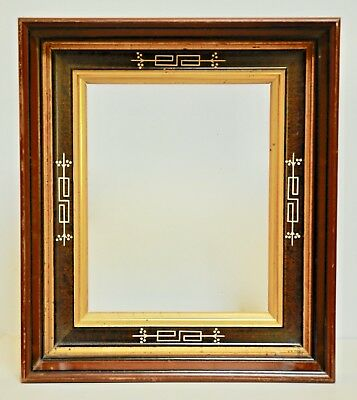 Antique 1800s Large Victorian Eastlake Double Frame, Richfield Springs NY