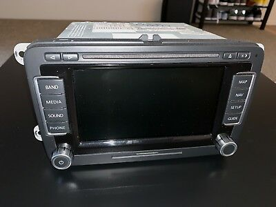 US SPEC RNS-510 VW Navigation RNS510 (With GPS Antenna) No Scratches!