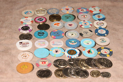 One Lot of Vintage Poker Chips