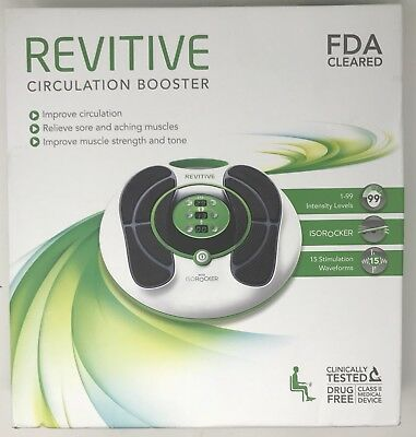 REVITIVE IX Circulation Booster With ISO Rocker with Remote in Box