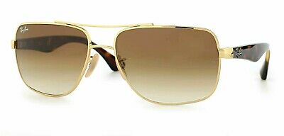 dd5e68777e NEW RAY BAN Sunglasses Gold Frame RB 3522 001 13 Gradient Brown ...