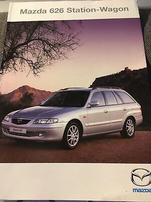 Catalogue / Brochure MAZDA 626 STATION WAGON de 2000 --