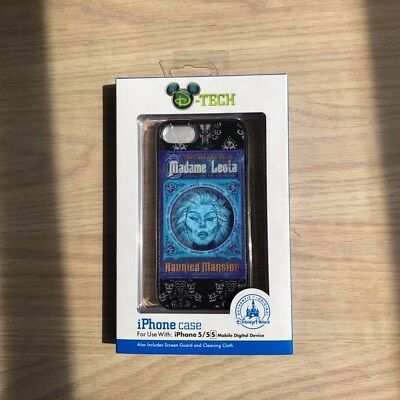 Disney Theme Parks Apple iPhone 5 5s SE Case Haunted Mansion Madame Leota New!!!