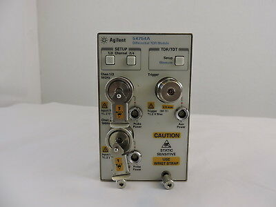 Agilent 54754A Differential & Single-Ended TDR/TDT Module - 90 Day Warranty