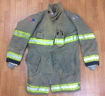 Globe Gxtreme Firefighter Bunker Turnout Jacket 44 Chest x 40 Length 2011