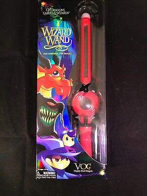 Of Dragons Fairies and Wizards Wizard Wand Red VOG Mighty Red Dragon New