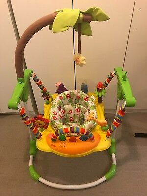 Roger Armstrong Jungle/Safari Fever Jumper with sounds/lights/tray