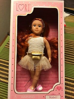 FABIANA LORI DOLL 6 INCH BALLERINA NEW IN BOX COLLECTIBLE