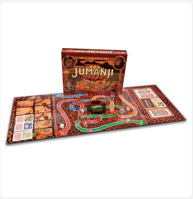 Jumanji Board Family Game 2-4 Players Children Adult Play Party Indoor Toys Set