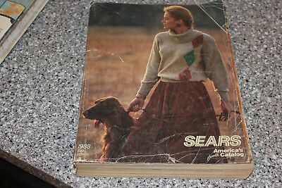 1988 Vintage SEARS Fall Winter Catalog Free Fast Shipping