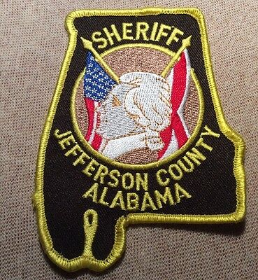 AL Jefferson County Alabama Sheriff Patch