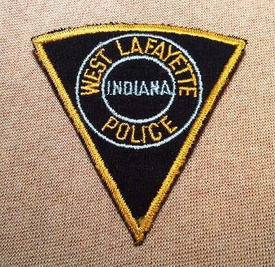 IN West Lafayette Indiana Police Patch