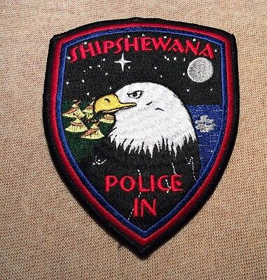 IN Shipshewana Indiana Police Patch