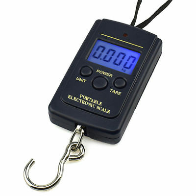 Electronic Digital Hanging Luggage Scale Mini Fishing Scale Portable 40kg/10g
