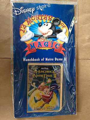 disney pin 12 months of magic hunchback of norte dame 2