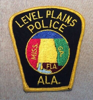 AL Level Plains Alabama Police Patch