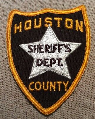 AL Houston County Alabama Sheriff Patch (3.5In)