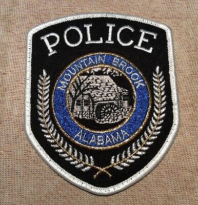 AL Mountain Brook Alabama Police Patch (New)