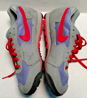 official photos a023d 91996 Vintage NIKE Echelon Hiking Cycling Shoes WOMENS Size 8 Gray Red Suede 95