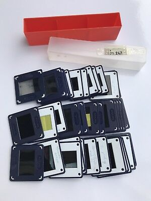 Mixed Lot Of 36 x Agafacolor 35mm Slides