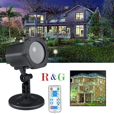 Laser Light Show Projector Holiday House Garden Outdoor LED Lamp For Christmas