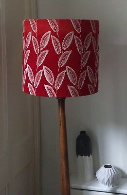 Large Vintage Fabric Mid Century Lamp/pendant Shade Retro Style Chic