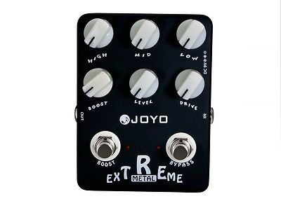 Genuine JOYO JF-17 Extreme Metal Electric Guitar Effect Pedal True Bypass