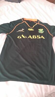 South Africa Rugby Shirt Size Medium