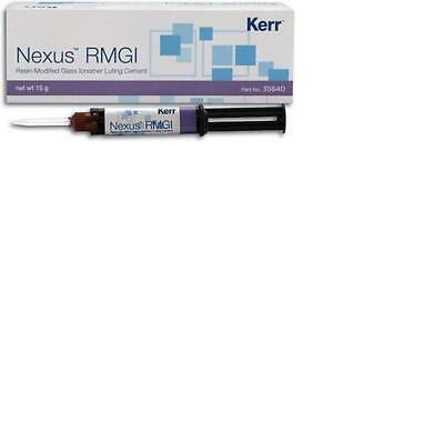 RMGI #35641 Resin Modified Glass Ionomer Dental Cement Genuine Kerr Nexus 5 gm