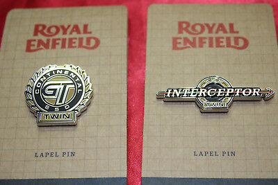 Royal Enfield Eicma 2017 2 Pin Lapel New Motorcycle Badge Button Continental