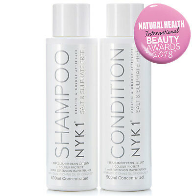 Sulphate Free Shampoo & Conditioner - (500ml x2) BEST Hair Aftercare PROTECTION