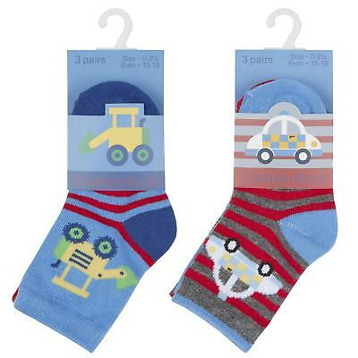Babies 3 Pack of Cotton Rich Socks