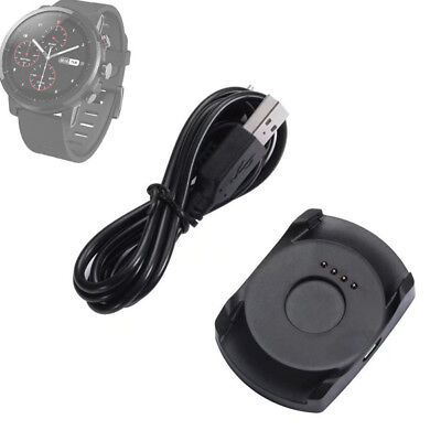 USB Dock Charger Charging Cradle + Cable For Xiaomi Huami Amazfit 2 Smart Watch