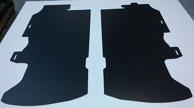1975 Lesabre Convertible Trunk Boards Body Panel Tail Light Protectors Black