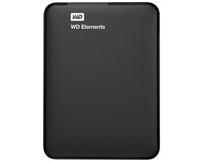 "Western Digital WD Elements 1TB 2,5"" HDD extern USB3.0 schwarz"