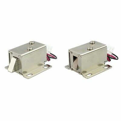 DC 12V File Display Cabinet Drawer Latch Assembly Solenoid Electric Lock LY31 XT