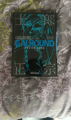 Masamune Shirow Poster Book : Galgrease 1st Series 003 Galhound sealed