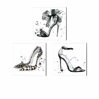 Jennifer Parker 'Glamourous' Canvas Art (Set of 3)