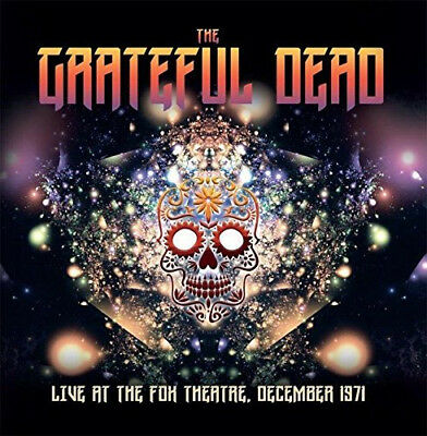 The Grateful Dead : Live at the Fox Theatre, December 1971 CD (2017) ***NEW***