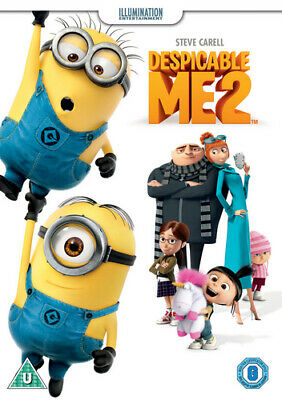 Despicable Me 2 DVD (2013) Pierre Coffin cert U ***NEW*** FREE Shipping, Save £s