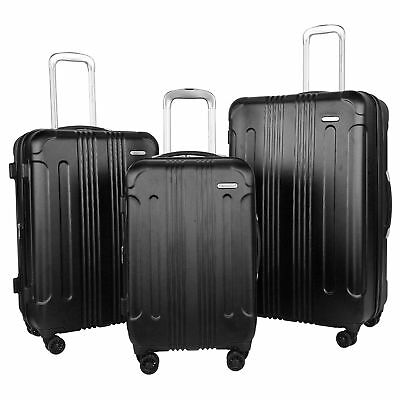 Travelers Club Voyager Collection 3-piece Hardside Spinner Luggage Set