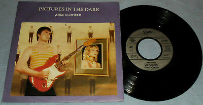 """Mike Oldfield - Pictures In The Dark 7"""" Single mint"""