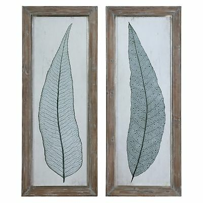 Uttermost Tall Leaves Framed Arts (Set of 2)