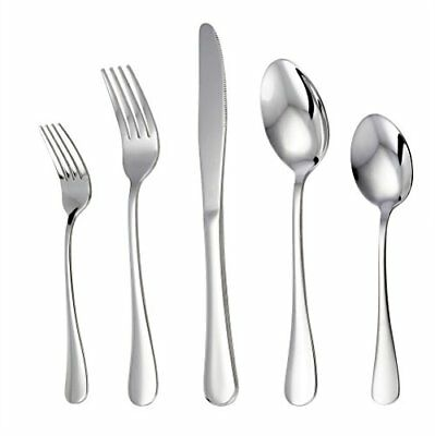 Silverware Set Flatware Cutlery Sets for 4 Stainless Steel Knife Fork Spoon New.