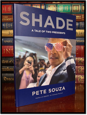Shade ✍SIGNED✍ by PETE SOUZA New Hardback 1st Edition First Printing Obama Trump
